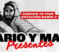 Acto en Puente Pueyrredón a 19 años de la masacre de Avellaneda este 26 de junio
