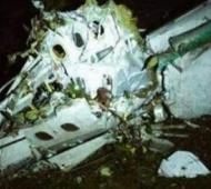 El avión que transportaba al plantel se estrelló en Colombia.
