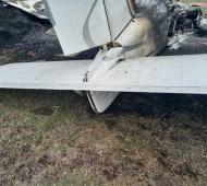 Cayó avioneta experimental en cercanías del Aeroclub de General Rodríguez