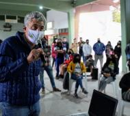Gustavo Barrera cruzó a Montenegro