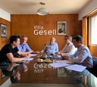 La reunió se llevó a cabo en Villa Gesell