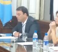 Barroso inauguró sesiones en el HCD de 9 de Julio.