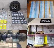"""Operativo """"Papa Lavada"""": Desbaratan en Batán a banda narco tras incautar 115 kilos de cocaína ocultos en camiones con verduras"""