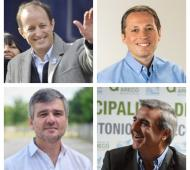 Intendentes de la provincia expresaron su apoyo a Cristina Fernández. Foto: Prensa