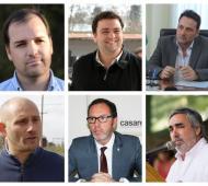 Varios intendentes confirmaron sus candidaturas. Foto: Prensa