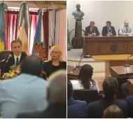 Apertura de sesiones en los distintos concejos deliberantes de la Provincia. Foto: Prensa
