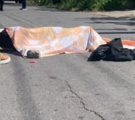 El ladrón recibió un balazo y murió. Foto: El Radar del Sur