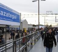 Los trabajos en el andén provisorio de Berazategui empezarían esta semana. Foto: El Progreso.