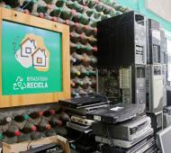 Berazategui avanza en el reciclado de residuos electrónicos