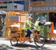 Berazategui implementa bicicletas para recicladores urbanos