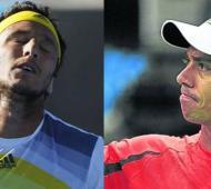 """""""Pico"""" Mónaco y """"Charly"""" Berlocq quedaron afuera de Roland Garros."""