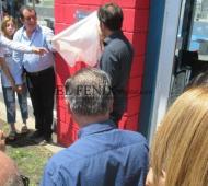 Jefe de gabinete de Kicillof en Benito Juárez y Tapalqué, con una inauguración y recorrida por obras