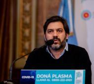 Bianco dijo que Vidal nunca gobernó desde La Plata.