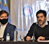 Carlos Bianco con COVID