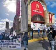 Trabajadores de bingos organizaron ollas populares (Aleara)