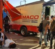 Los ladrones aprovecharon un accidente en San Miguel.