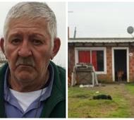Cayetano Rodríguez vive en una humilde vivienda.