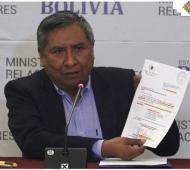 Canciller de Bolivia,Rogelio Mayta.