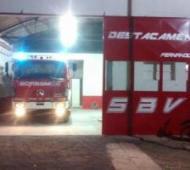 Ayuda del Municipio para reabrir el cuartel de Bomberos. Foto: Prensa