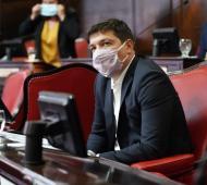 Coronavirus en la Legislatura: Bozzano positivo, el quinto legislador contagiado en menos de un mes
