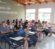 La escuela de emprendedores de Bragado