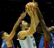 Argentina derrotó a Filipinas.