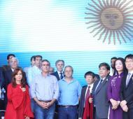 La expresidenta acompañó la inauguración del Hospital Oncológico Municipal. Foto: Twitter