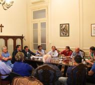 Zárate: Cáffaro y comerciantes analizaron la preocupante situación económica
