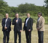Macri anunció la creación de la Reserva natural en Campo de Mayo