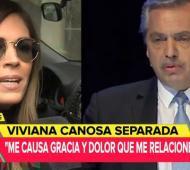 "Viviana Canosa habló en ""Involucrados""."