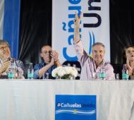 """""""De ninguna manera estoy dispuesto a anteponer mi candidatura al triunfo de Macri"""", dijo Solá en acto en Cañuelas"""