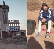 "Carhué: Dos demorados por pintada ""vegana"" en el matadero abandonado"