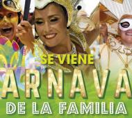 """Arranca el """"Carnaval de la Familia"""" en Malvinas Argentinas"""