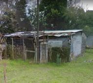 La casa donde estuvo secuestrada (Google Street View)