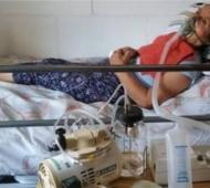 Sergia tiene 78 años y es electrodependiente.