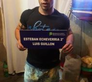 Integrante de la banda delictiva. Foto: Prensa