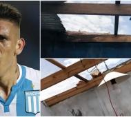 Mal momento para el futbolista Ricardo Centurión