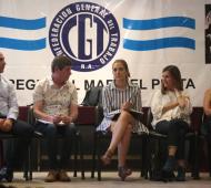La Ministra de Trabajo Bonaerense en Mar del Plata