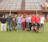 Los hinchas se reunieron con el Chamán en el estadio. Foto: Javier Fernando