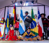 Mar del Plata celebra la 25° Fiesta de las Colectividades.