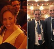"""Vidal e intendentes bonaerenses también participan de la gala """"Argentum"""" del G20"""