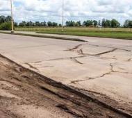 Colón: Por el mal estado de Ruta 50, funcionarios y Vialidad provincial acordaron hacer arreglos