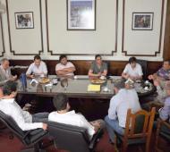 Concejales del FpV reunidos en La Plata. Foto: LaPlataYa