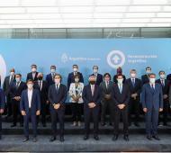 Los gobernadores, entre ellos Kicillof, firmaron el Consenso Fiscal 2020