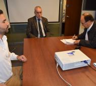 Saladillo firmó un convenio con Provincia ART