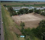 En Mercedes, perteneciente al Corredor B, se está trabajando en la instalación del obrador en la RN5.
