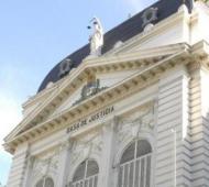 Sede la Corte Suprema bonaerense, máximo órgano judicial provincial.