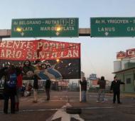 El corte será frente a la estación Avellaneda.