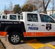 El oficial sospechado de participar de al menos dos asaltos se desempeñaba en el CPC de San Fernando.