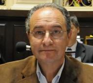 Jorge Cravero, exintendente roqueperense entre 1987 y 1995 y 1999 y 2003.